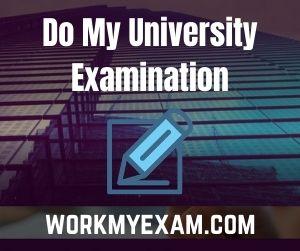 Do My University Examination