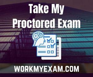 Take My Proctored Exam