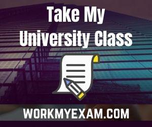 Take My University Class